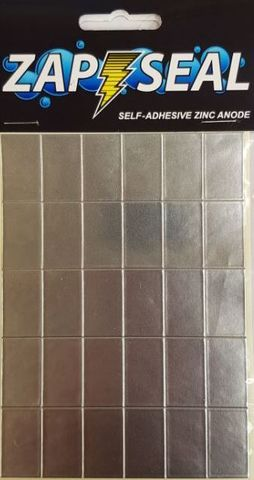 Zap Seal Self Adhesive Zinc Anode