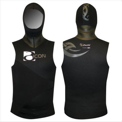 Atlantis Icon Hooded Vest #2 Small