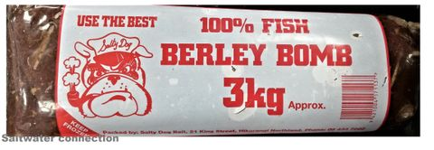 Salty Dog Berley Bomb 3Kg(Click & Collect)