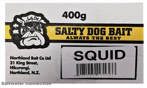 Salty Dog Lunchbox Squid 400Gm(Click & Collect)