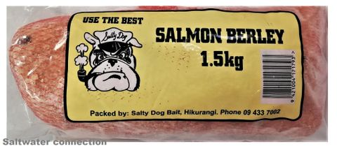 Salty Dog Salmon Berley 1 5Kg(Click & Collect)