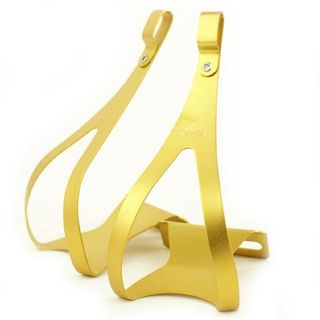 MKS Alloy Gold Toe Clip Large