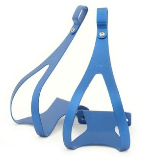 MKS Alloy Blue Toe Clip Medium