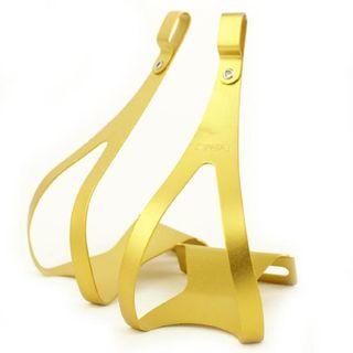 MKS Alloy Gold Toe Clip Medium