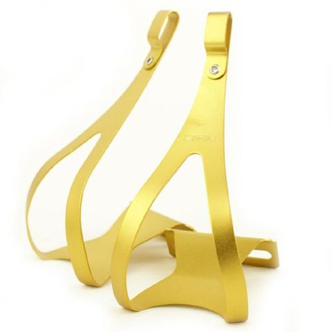 MKS Alloy Gold Toe Clip Medium