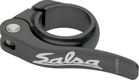 Salsa Flip-Lock Seat Collar 36.4 Black