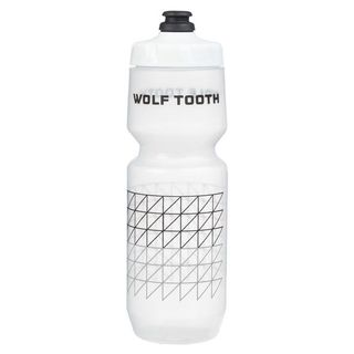 Wolf Tooth Matrix Water Bottle 26ozClear