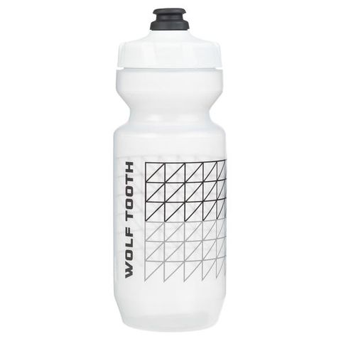 Wolf Tooth Matrix Water Bottle 22ozClear
