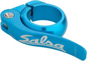 Salsa Flip-Lock Seat Collar 35.0 Teal