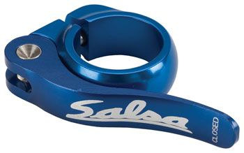 Salsa Flip-Lock Seat Collar 30.0 Blue