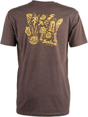 Salsa Gravel Icons T-Shirt LG