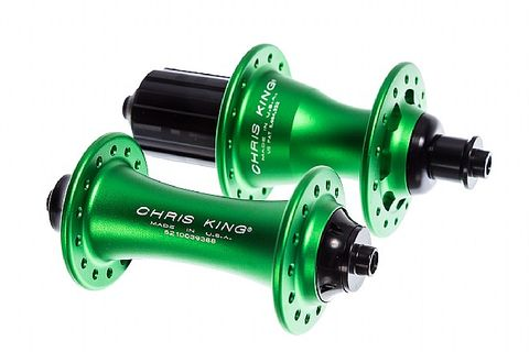 Chris King R45 24h Emerald Rear Shim Hub