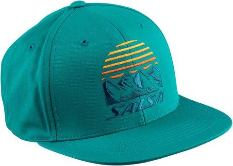 Salsa Summit Trucker Hat Blue Spruce