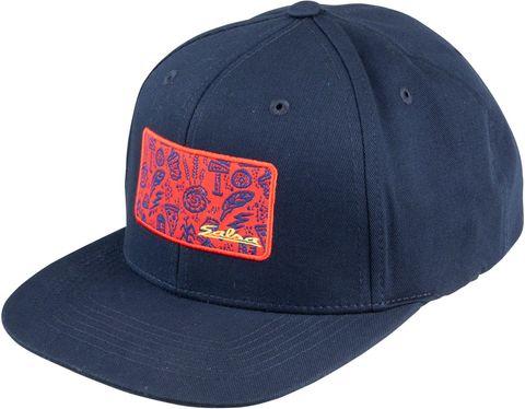 Salsa Gravel Icons Trucker Hat Blue