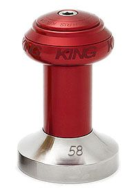 Chris King Espresso Tamper 58mm Red