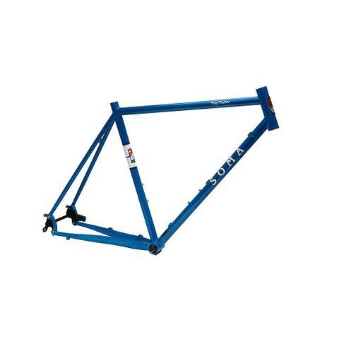 Soma Fog Cutter Frame Blue 56cm