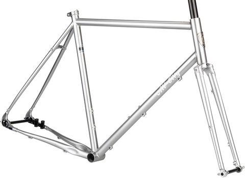 All-City Super Pro Frameset 55cm Silver