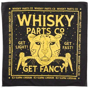 Whisky Fancy Cat Coalition Bandana