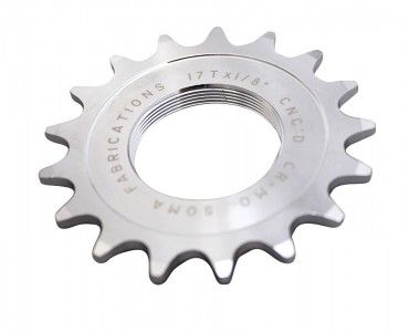 SomaTrack Cog 12T 3/32 Chrome Plated