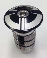 Tange Alloy top Compressor 1-1/8 Black