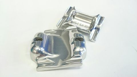 Thomson Oversized Saddle Clamps Silver