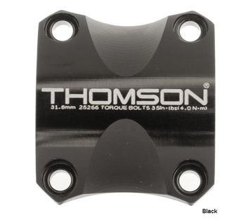 Thomson X4 31.8 Face Plate Black
