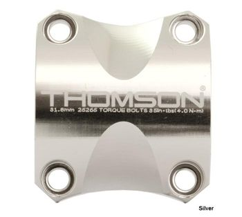 Thomson X4 31.8 Face Plate Silver