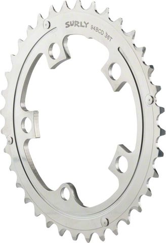 Surly OD Crank 36t Chainring Silver