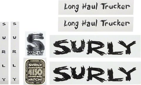 Surly Long Haul Trucker Decal Set Black