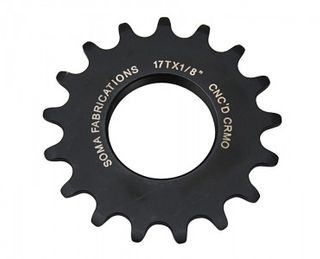 Soma Track Cog 14T 3/32 Black Machined