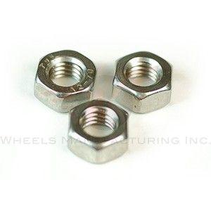 Wheels MFG M4 Hex lock Nut SS 100 pack