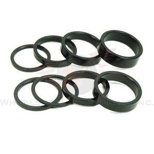 Wheels MFG 1-1/8 2.5mm Black 5 piece