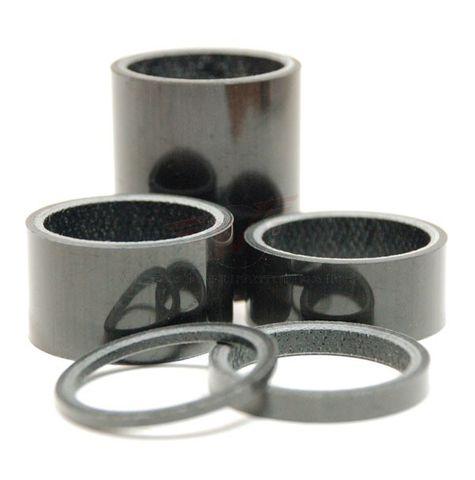 Wheels MFG 1 1/8 5mm Carbon 5 piece