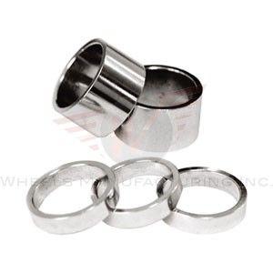 Wheels MFG 1 2.5mm Silver 10 piece