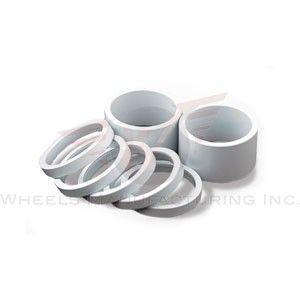 Wheels MFG 1-1/8 10mm WHITE Headset Spac