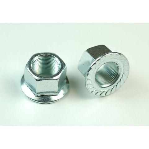 Wheels MFG Axle Nut, 9.5x26 25pce
