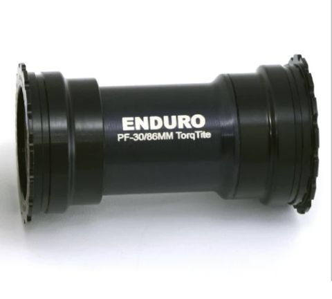 Enduro A/C S/S BB386EVO > 24mm TT Black