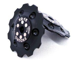 Enduro XD15 Ceramic Jockey Wheels SHIM