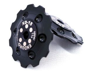 Enduro XD15 Ceramic Jockey Wheels SHIM