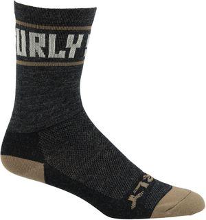 Surly Sports Logo Wool Sock Black MD