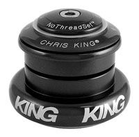 Chris King i7 Black 44mm 1-1/8>1.5 taper