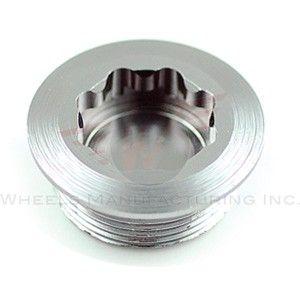 Wheels MFG Crank Bolt Shim Dura Ace Grey