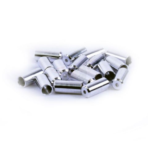 Wheels MFG 4mm Alloy Cable Ferrules 100p