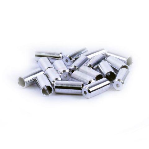 Wheels MFG 4mm Alumin Cable Ferrules 50p