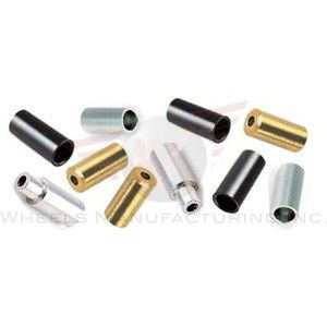 Wheels MFG 4mm Black Cable Ferrules 50p