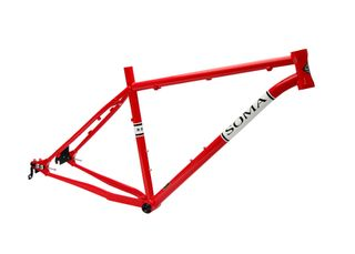 Soma B-Side Frame Red SM 14.5