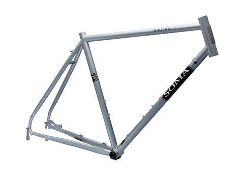Soma DoubleX DISC 56cm Sky Silver Frame