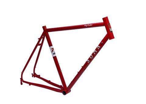Soma Fog Cutter Frame Red 56cm