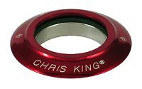Chris King Inset Bearing Cap1 1/8  Red