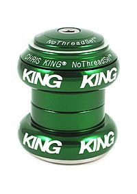 Chris King NTS Green 1-1/8 Bold Laser Lo